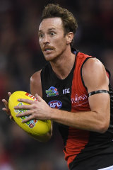 Mitch Brown has joined the Bombers' list of injured forwards.