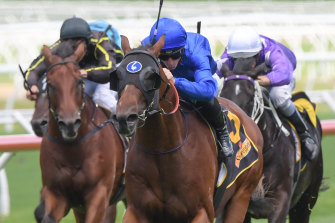 Three-year-old Godolphin colt Microphone is also a danger.