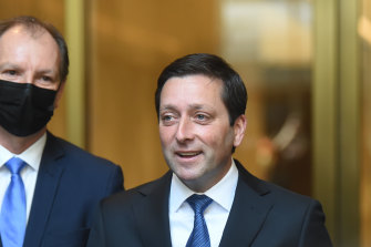 Opposition Leader Matthew Guy declared pandemic recovery was at the heart of the Coalition.