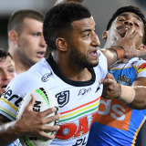 Viliame Kikau will be a menace against the Eels if he's given space.