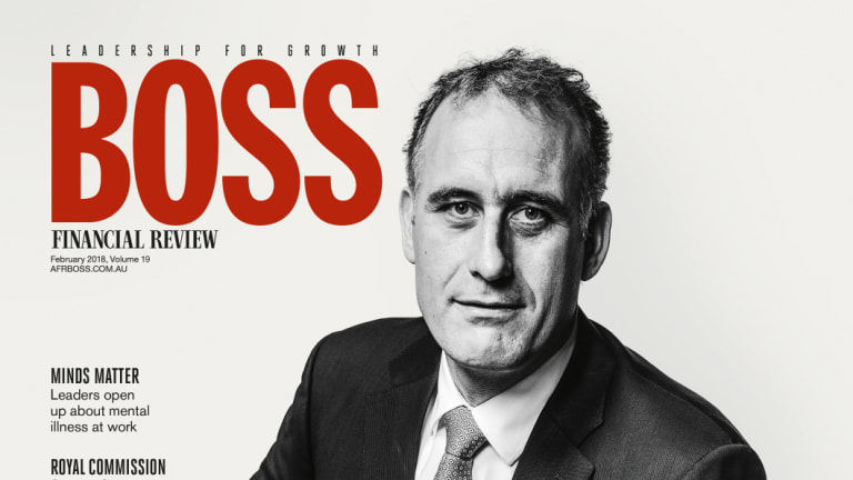 The AFR's BOSS magazine.