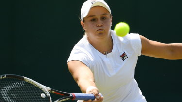 Bring on Wimbledon: Ash Barty heads into the grass-court season brimming with confidence and self-belief.