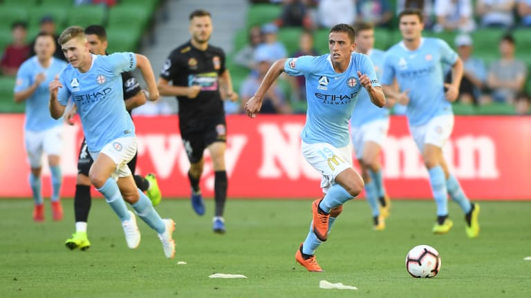 Lachlan Wales has delivered since being called into the City side.