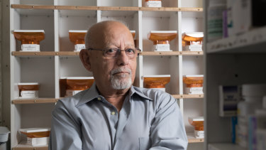 Morris Morcos says his family decided that he would become a pharmacist in Australia.