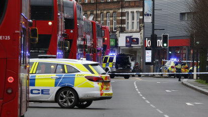 Man shot dead at south London knife attack was 'a convicted terrorist'