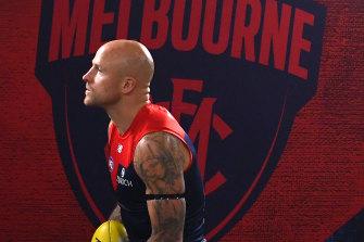 Melbourne veteran Nathan Jones.