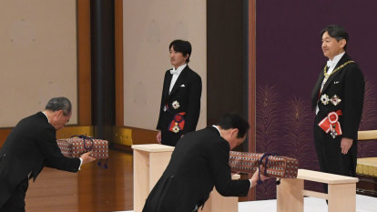 Japan's new Emperor Naruhito inherits Imperial regalia