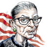 US Supreme Court Justice Ruth Bader Ginsburg.