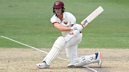 Labuschagne's 192 has Blues hanging by a thread in Shield final
