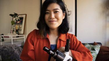 Artist and designer Huei Yin Wong