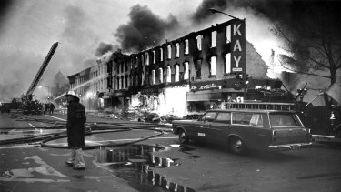 Nixon took power at a tumultuous time in US history. Riots had erupted following the murder of Martin Luther King.