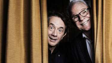 Martin Short and Steve Martin have been laughing together for 35 years.