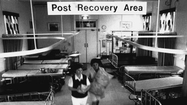 Last post ... The post recovery room is cleared out.
