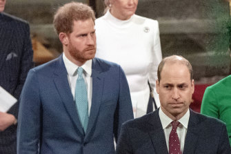 Prince William and Prince Harry released very different tributes to their grandfather within half an hour of each other.