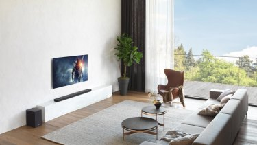 LG's soundbars aren't as good at Atmos as dedicated ceiling speakers, but they still sound great.