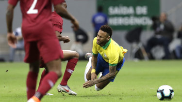 Neymar has been ruled out of the Copa America.