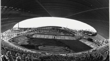 The Sydney Football Stadium... part of the 20th century, November 26, 1987.
