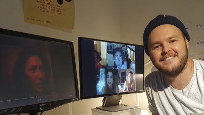 House of horror: Home-made movie grips its audience in real time