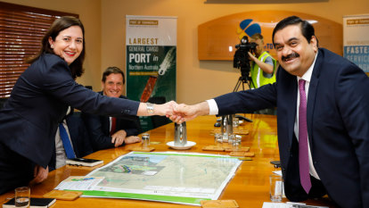 I'm watching you, Palaszczuk tells Adani on jobs, environment