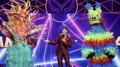 'Nobody wins': What Osher Gunsberg loves about The Masked Singer