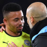 Jesus comes off bench to seal win for Manchester City at Leicester