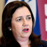 Queensland Premier Annastacia Palaszczuk is campaigning on tough border controls leading up to the state election.