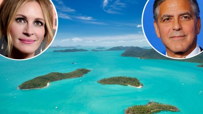 George Clooney and Julia Roberts book their tickets to paradise in Australia