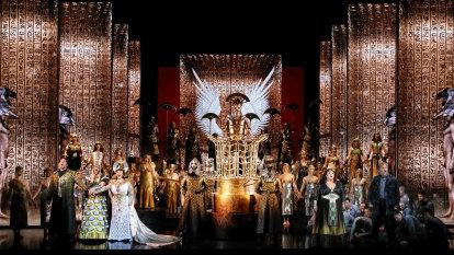 Opera premiere descends into Marx Brothers farce