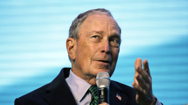 Not even in the state: Michael Bloomberg.