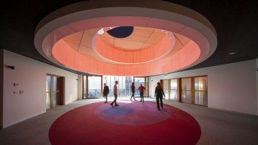 Melbourne Quakers Centre by Nervegna Reed and pH architects.