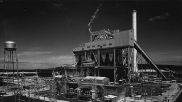 The power station in 1968.