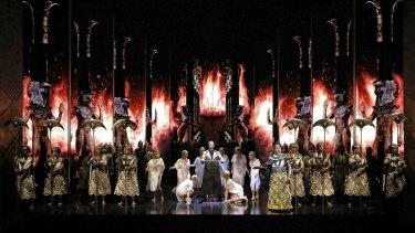The curtain has fallen on Aida for the winter season.