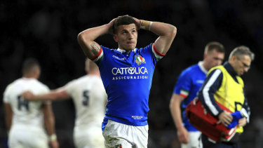 Battlers: Eddie Jones feels the Six Nations should consider relegation as Italy continue to struggle.