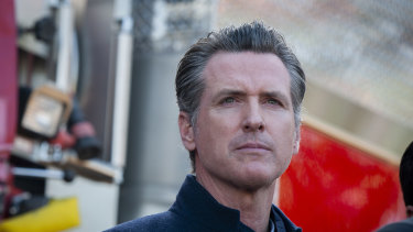 California Governor Gavin Newsom has defended his state against US President Donald Trump.