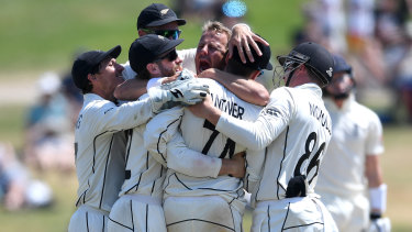 Neil Wagner polished off the England tail to seal a big win for the Black Caps.
