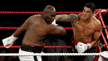 Sonny Bill Williams is set to return to the ring.