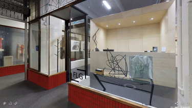Virtual shop front: Flinders Land Gallery's online tour.