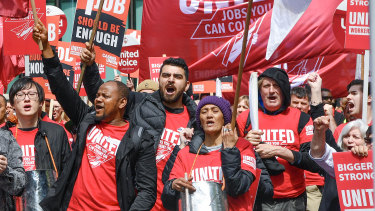 The United Workers Union, which represents Peters workers, claims the company is attacking casual staff.