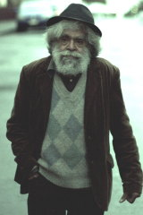 A shot from the 2008 film <i>Bastardy</i>, a warts-and-all portrait of Jack Charles as a heroin addict and burglar.