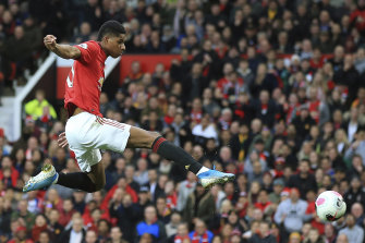 Marcus Rashford joined Manchester United's academy aged just 11 and is now one of the club's star players.