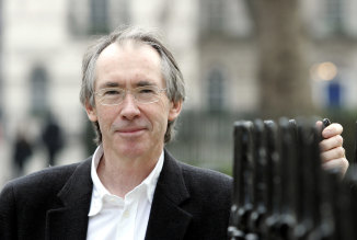 Ian McEwan, pictured the year his novel <i>Saturday</i> was published, conceded the limits of fiction in the aftermath of 9/11.