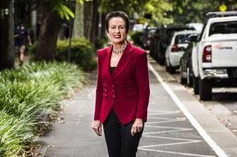 Sydney lord mayor Clover Moore.