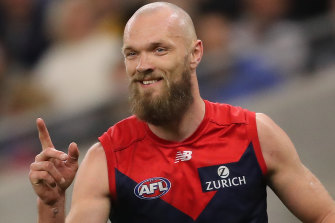 Max Gawn produced a best-afield display in the preliminary final.