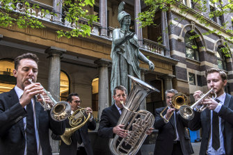 State and local governments will spend millions to get people back to the CBD, including funding Sydney Symphony Orchestra performances on the street.