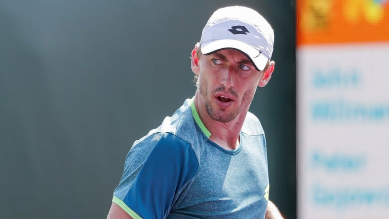 John Millman was not happy despite notching a win at the US Open.
