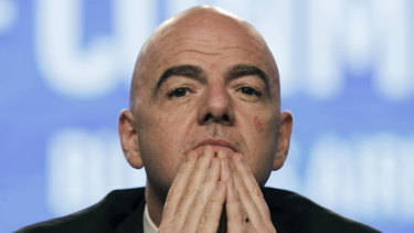 FIFA president Gianni Infantino: FIFA has ruled out having 48 teams at the Qatar World Cup in 2022.