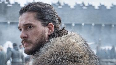 Kit Harington as Game of Thrones' Jon Snow.
