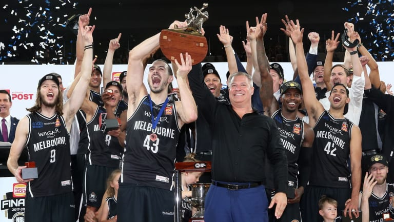 Back-to-back?: Melbourne United will defend their NBL title.