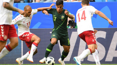 811722445 Arzani s World Cup exploits draw interest from giants Juventus  reports