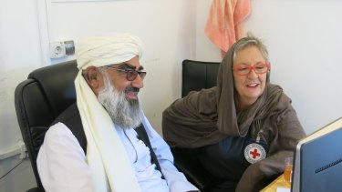 Australian Red Cross Aid worker Kerry Page has marked the end of her time in Afghanistan, but is urging organisations not to give up on the country